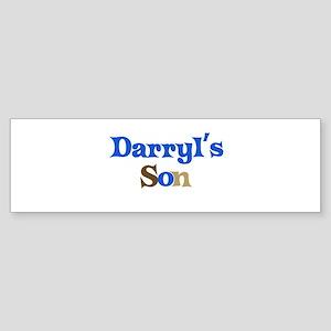 Darryl's Son Bumper Sticker