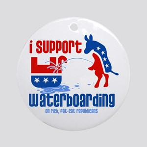 Support Waterboarding! Ornament (Round)