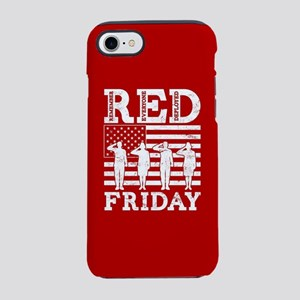 RED Friday Salute iPhone 8/7 Tough Case