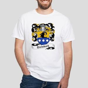 Steinbock Family Crest White T-Shirt