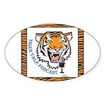Tiger Talk Logo Sticker