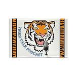 Tiger Talk Logo Magnets