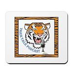 Tiger Talk Logo Mousepad