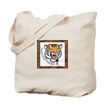 Tiger Talk Logo Tote Bag