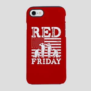 RED Friday Soldiers iPhone 8/7 Tough Case