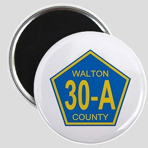 30A Walton County Florida Magnet
