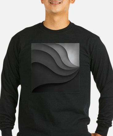 Black Abstract T