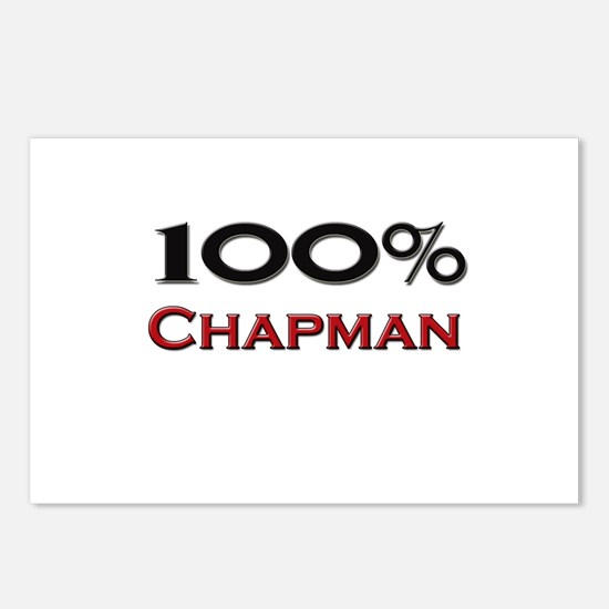 100 Percent Chapman Postcards (Package of 8)