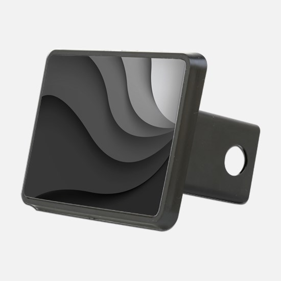 Black Abstract Hitch Cover