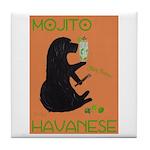 Mojito Havanese Tile Coaster