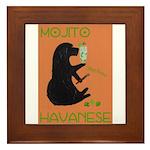 Mojito Havanese Framed Tile