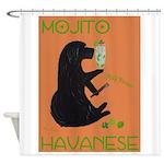 Mojito Havanese Shower Curtain