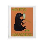 Mojito Havanese Throw Blanket