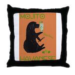 Mojito Havanese Throw Pillow