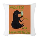 Mojito Havanese Woven Throw Pillow
