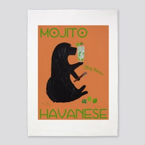 Mojito Havanese 5'x7'Area Rug
