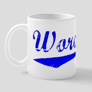 Vintage Worcester (Blue) Mug