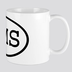 OMS Oval Mug