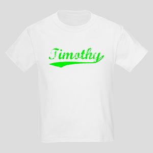 Vintage Timothy (Green) Kids Light T-Shirt