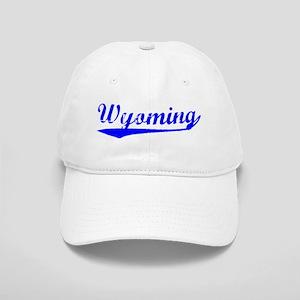 Vintage Wyoming (Blue) Cap