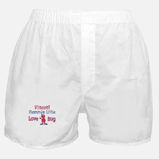 Vincent - Mommy's Love Bug Boxer Shorts