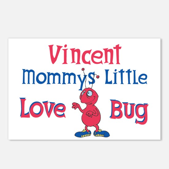 Vincent - Mommy's Love Bug Postcards (Package of 8