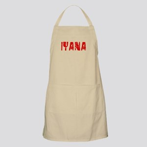 Iyana Faded (Red) BBQ Apron