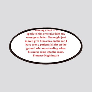 Florence Nightingale quote Patch