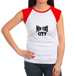 New York City Women's Cap Sleeve T-Shirt