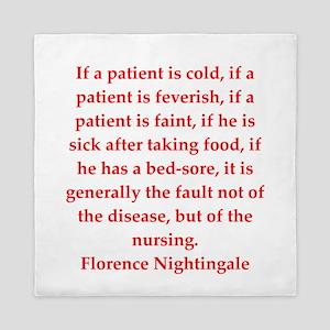 Florence Nightingale quote Queen Duvet