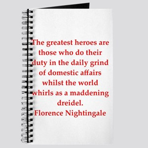 Florence Nightingale quote Journal