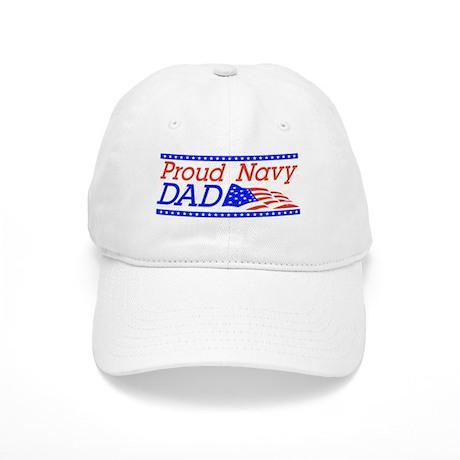 Proud Navy dad Cap
