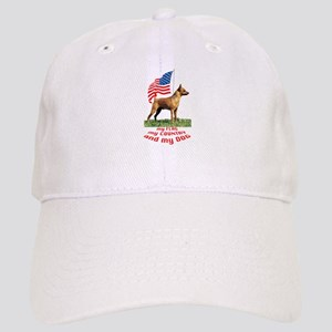 minpin with flag Cap