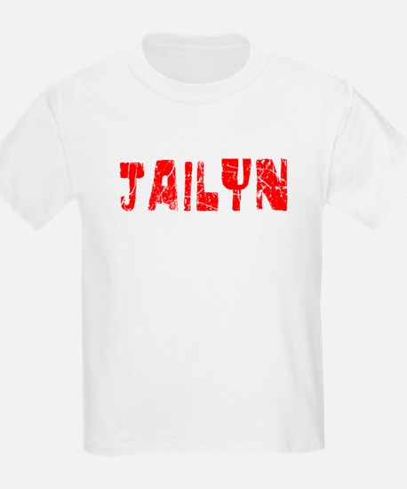 Jailyn Faded (Red) T-Shirt