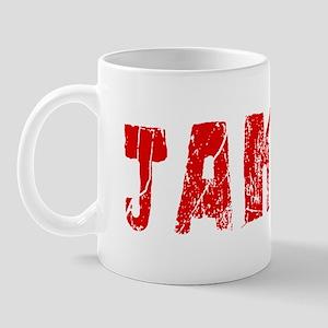 Jakob Faded (Red) Mug