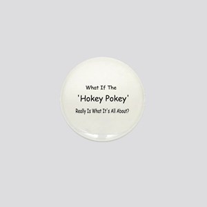 Hokey Pokey Mini Button