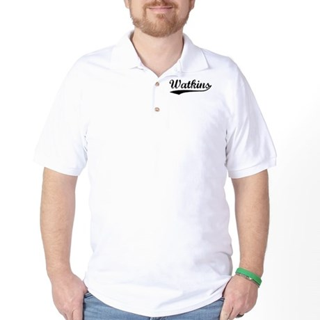 Vintage Watkins (Black) Golf Shirt