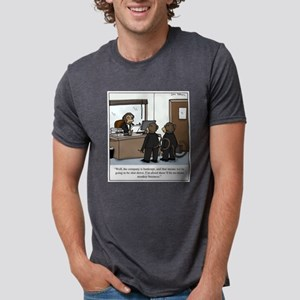 No more monkey business cartoon T-Shirt