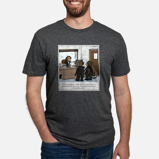 No more monkey business cartoon T-Shirt