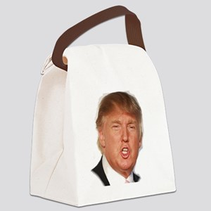 Donald Trump Canvas Lunch Bag