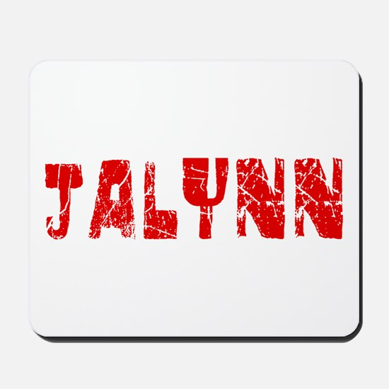 Jalynn Faded (Red) Mousepad