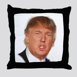 Donald Trump Throw Pillow