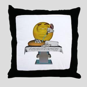 Smiley Aromatherapy Throw Pillow