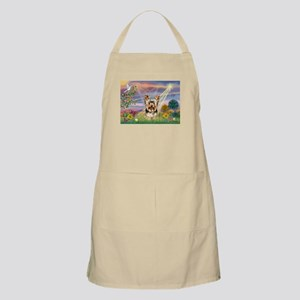 Cloud Angel & Yorkie BBQ Apron
