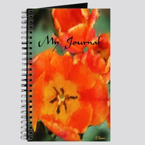 Orange Tulip Journal