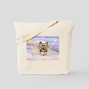Yorkie (#17) in Clouds Tote Bag