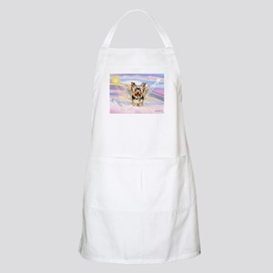Yorkie (#17) in Clouds BBQ Apron