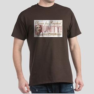 Obama Unity 2008 Dark T-Shirt