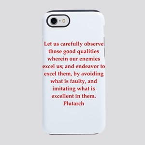 Plutarch quote iPhone 8/7 Tough Case