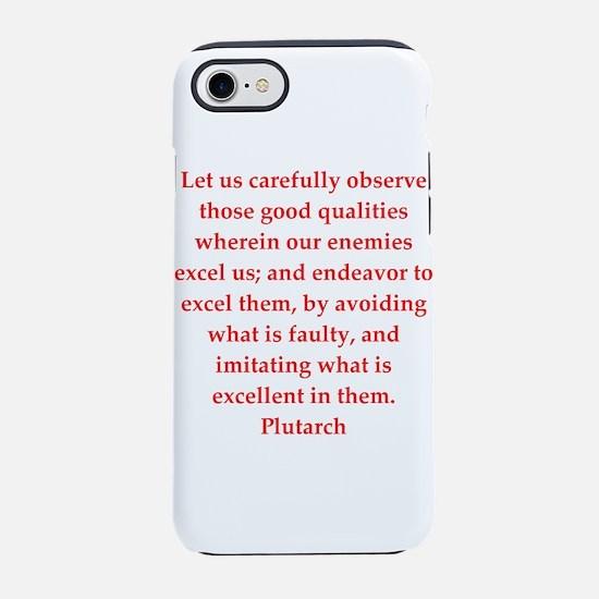 Plutarch quote iPhone 8/7 Tough Case